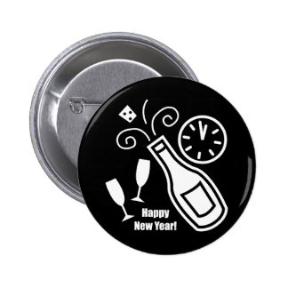 New Years Eve Button