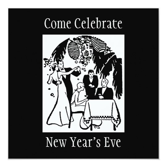 New Years Eve Card