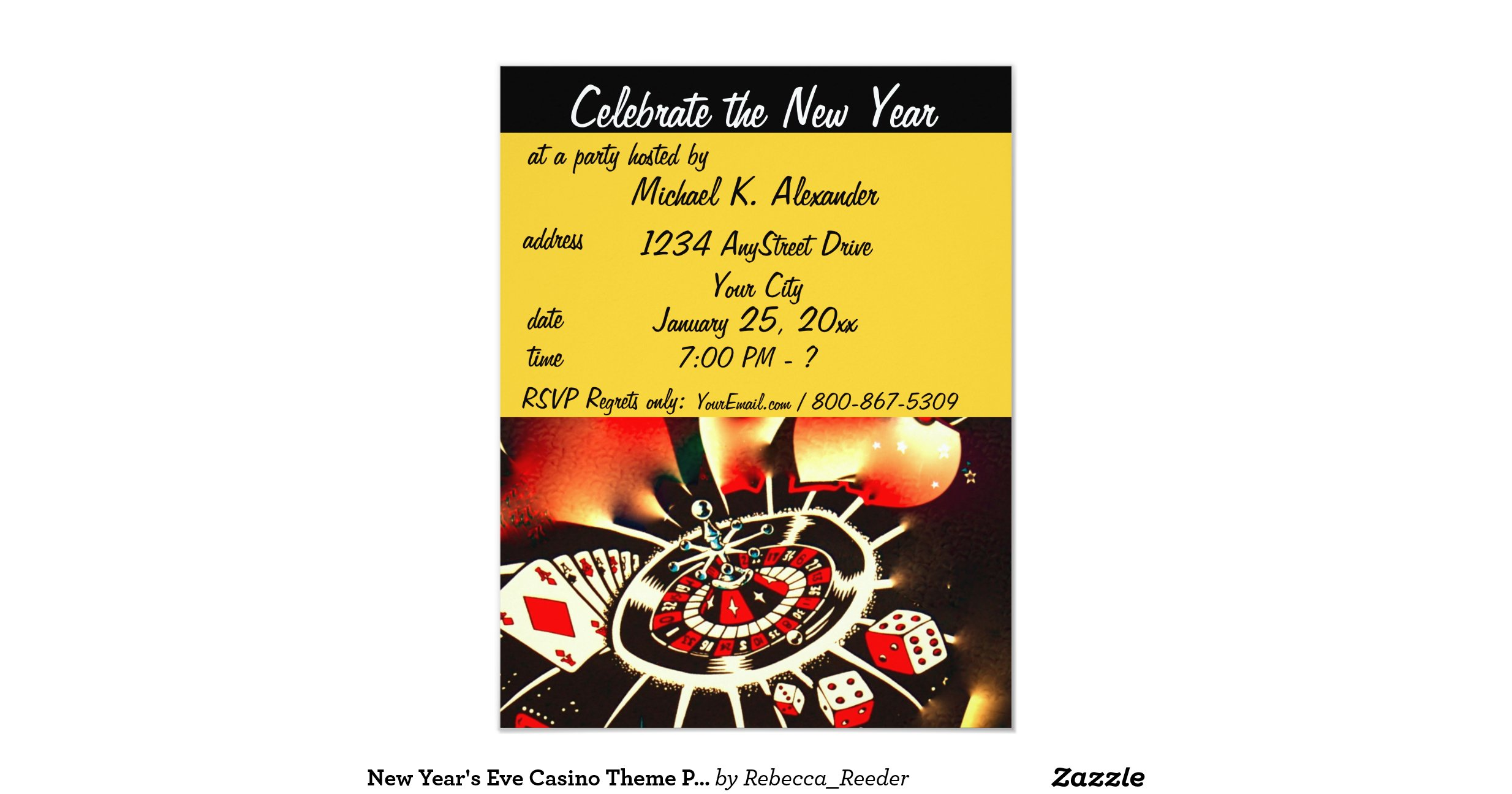 new years eve casino party