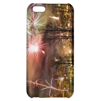 New Year's Eve Fireworks in Niederau Tyrol Austria Cover For iPhone 5C