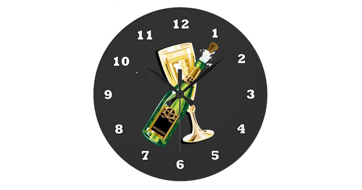 New Years Eve Holiday Clock | Zazzle.com