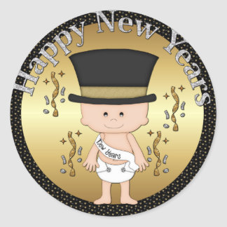 New Years Eve Holiday sticker