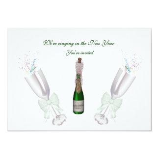"New Year's Eve 5"" X 7"" Invitation Card"
