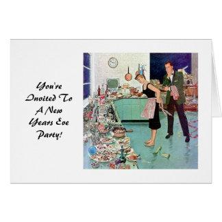 New Years Eve Invitation. Card