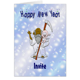 New Year's Eve Invite Card