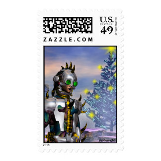 NEW  YEAR'S EVE OF A CYBORG DROPPE... - POSTAGE STAMPS