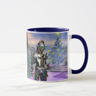 New Year's Eve of a Cyborg Dropped from the Future Mug