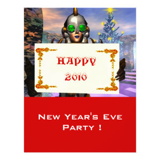NEW YEAR'S EVE OF A CYBORG FLYER