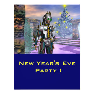 NEW YEAR'S EVE OF A CYBORG FULL COLOR FLYER