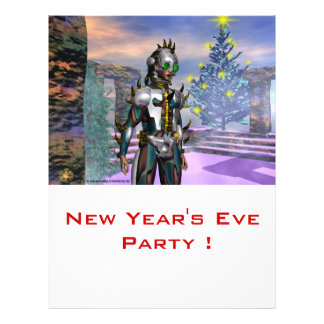NEW YEAR'S EVE OF A CYBORG FLYERS