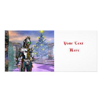 NEW YEAR'S EVE OF A CYBORG RACK CARD
