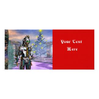 NEW YEAR'S EVE OF A CYBORG RACK CARD DESIGN