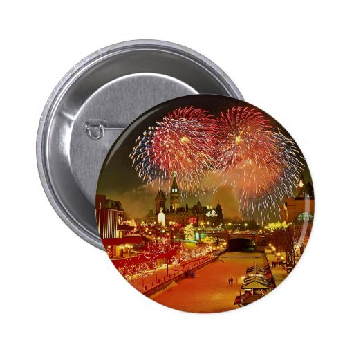 New Year's Eve, Ottawa, Ontario, Canada Pins