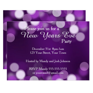 New Years Eve Get Together Invitations & Announcements   Zazzle