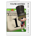 NEW YEARS EVE PARTY INVITATION CARDS