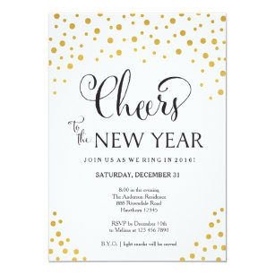 50% Off Year End Invitations – Limited Time Only | Zazzle