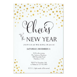 New Year's Eve Party Invitation / New Year's Party