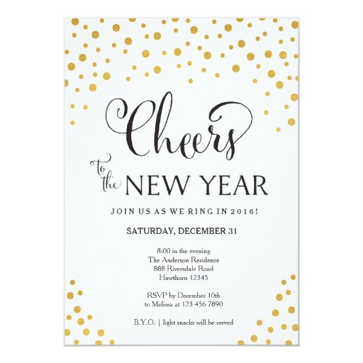 New year 39 s eve party invitation new year 39 s party zazzle for Terrace new year party