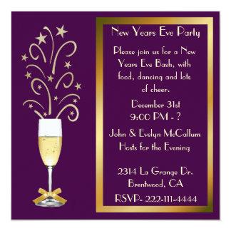 New Years Eve Celebration Invitations & Announcements | Zazzle