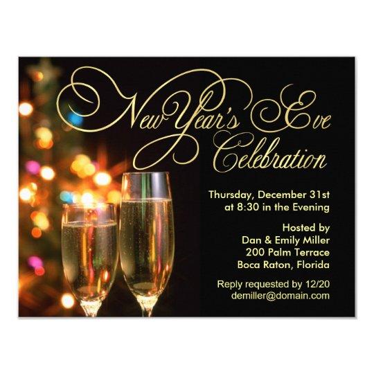 New Year's Eve Party Invitations | Zazzle.com