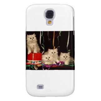 New Year's Eve Party Kittens Samsung Galaxy S4 Cover