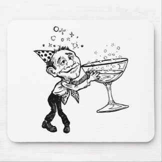 New Year's Eve Party Mouse Pad