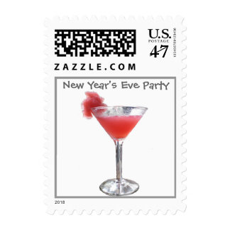 New Year's Eve Party Postage