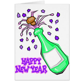 New Year's Eve Party T-Shirts New Years Party Card