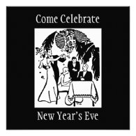New Years Eve Personalized Announcement