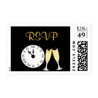 New Year's Eve RSVP Postage
