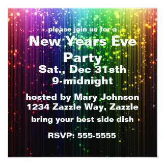 New Years Eve Sparkle Card