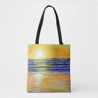 New Year's Eve Sunset Tote Bag