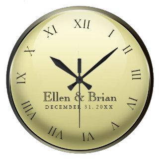 New Year's Eve Wedding Clock
