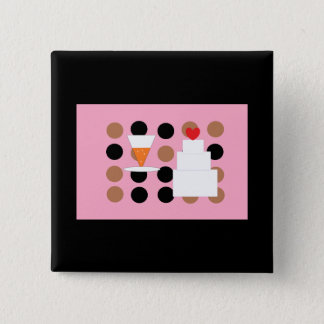New Years Eve Wedding Pinback Button