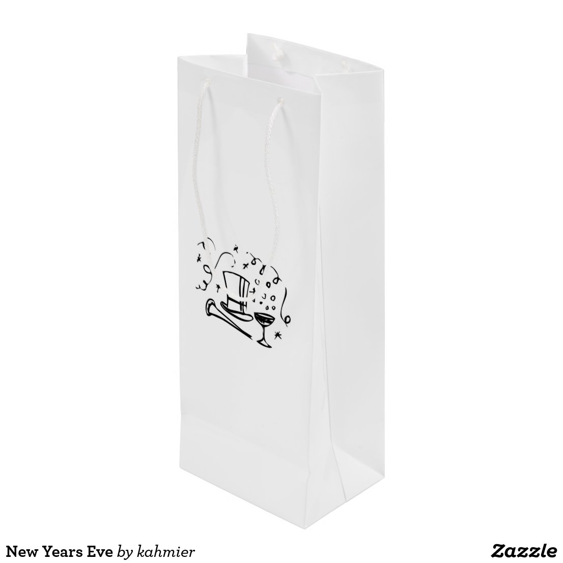 New Years Eve Wine Gift Bag