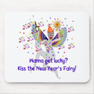 New Year's Fairy Mouse Pad