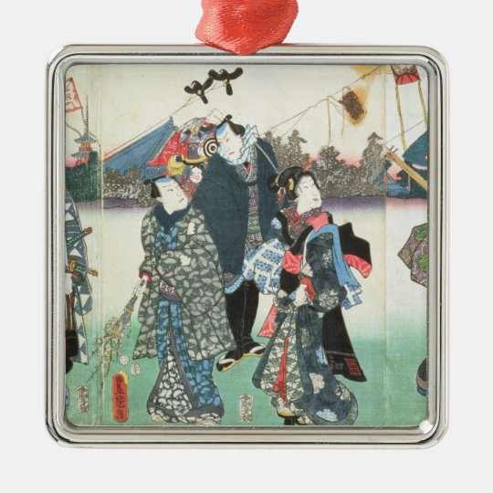 New Year's festival, Metal Ornament