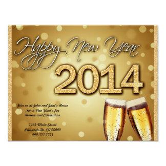 New Year's Flat Invite 2014