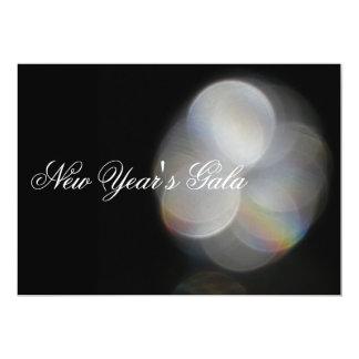 New Years Gala 5x7 Paper Invitation Card