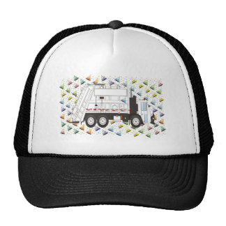 New Years Garbage Truck January Trucker Hat