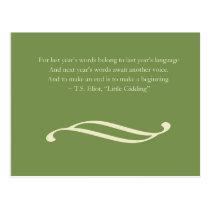 New Year's Greeting | Postcard