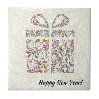 New Year's Greeting Tile