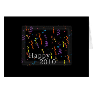 New Years Happy 2010 Card