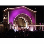 New Years In Balboa Park Acrylic Cut Out