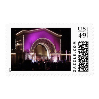New Years In Balboa Park Postage Stamp