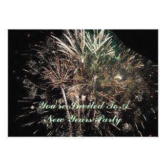 New Years Invitation