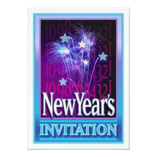 New Years Invitations - Customize