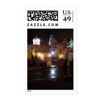 New Years Lights In Balboa Park Postage Stamps