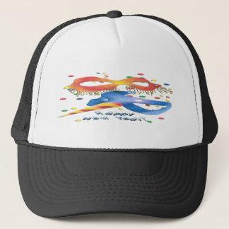 New Year's Masks Trucker Hat
