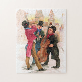 New Year's Musicians Jigsaw Puzzle